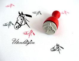 Pferdekopf - Ministempel