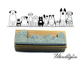 Motivstempel - Hunde, Hunde, Hunde