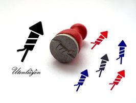 Rakete - mini Stempel