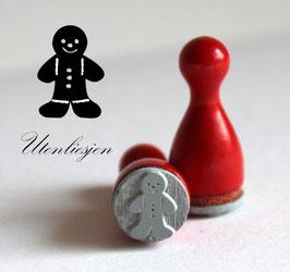 Stempel Lebkuchenmann - Ministempel
