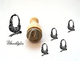 Stempel Eichel - Ministempel