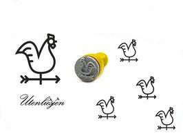 Wetterhahn - Ministempel