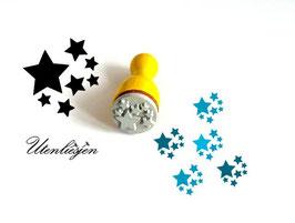 Stempel Sterne, Sterne - Ministempel