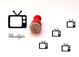 Fernseher - mini Stempel