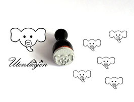 Elefant - Ministempel