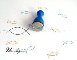 Christenfisch - Ministempel