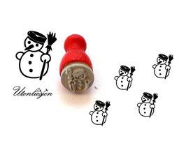 Stempel Schneemann 1 - Ministempel