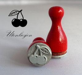 Ministempel - Kirsche
