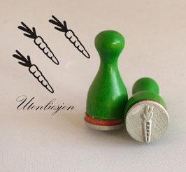 Ministempel - Möhre