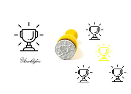 Pokal - Stempel mini