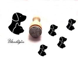 Hund und Katze - Ministempel