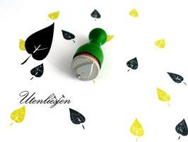 Ministempel - Blatt