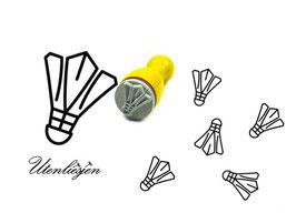 Federball, Badminton - mini Stempel