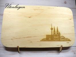 Holzbrettchen - Köln