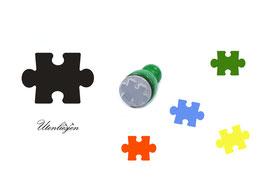 Puzzleteil - Stempel mini