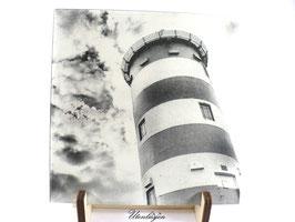 Fotogravur - Leuchtturm Pilsum