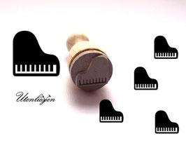 Klavier, Flügel - mini Stempel