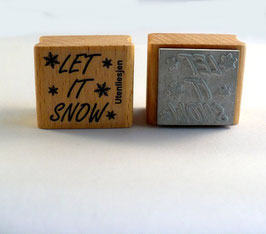 Let it snow - Motivstempel