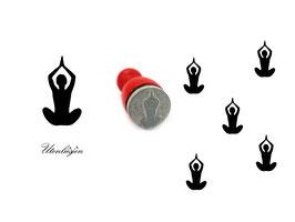 Yoga - Ministempel