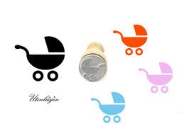Kinderwagen - Motivstempel mini