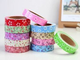 Fabric Tape - Blumen