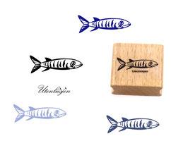 Fisch Hering - Motivstempel