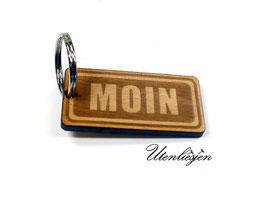 Moin - Holz Schlüsselanhänger