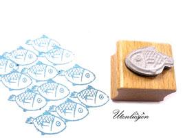 Fisch rund  - Motivstempel