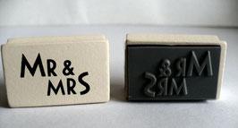 Motivstempel - Mr & Mrs