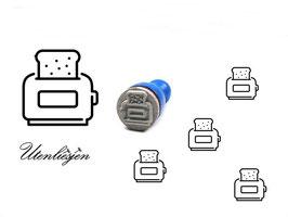 Toaster - Ministempel