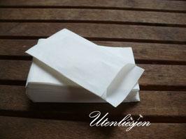 Papiertüten weiß - 2 verschiedene Größen