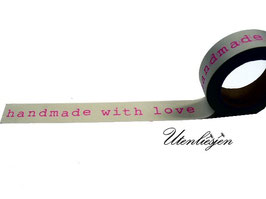 Masking Tape - Handmade with love