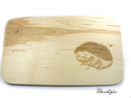 Holzbrettchen - Igel mit Namen