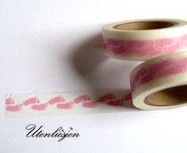 Masking Tape - Babyfüße hellblau oder rosa