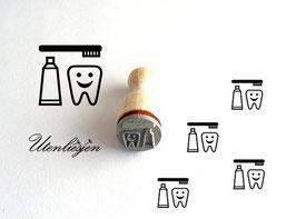 Zahnpflege - Ministempel