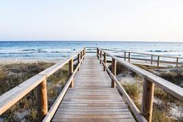 Holzbrücke natur