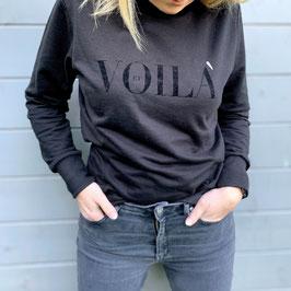 VOILÀ Sweatshirt black