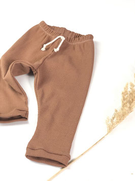 Rib Leggings caramel