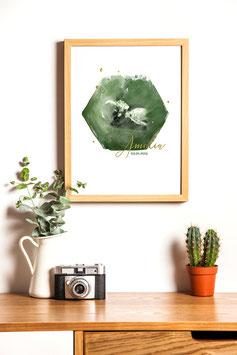 Hexa Belly Sound Print