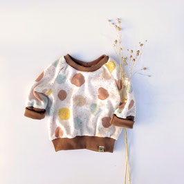 Frottee Dots Sweater
