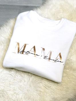 MAMA Sweatshirt weiß