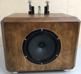 Röhren-Aktivlautsprecher-Bausatz AMP6 - tube active speaker kit AMP6