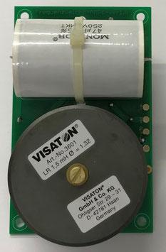 Frequenzweiche für den Bauvorschlag SOLO 20 von Visaton - frequency crossover for the construction proposal SOLO20 by Visaton