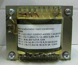 Netztrafo AMP2 und AMP5 - power transformer AMP2 and AMP5