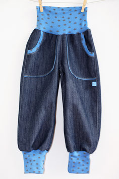 CHiLLY-Jeans Sterne blau