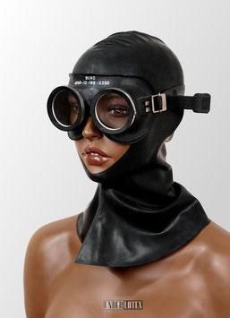 Auer Gasschutzbrille schwarz