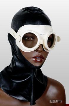 Auer Gasschutzbrille weiß