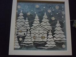 Winter Wonder Land ( Inkl. Lichterkette )