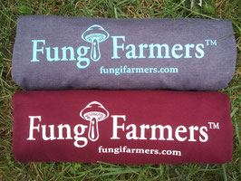 Fungi Farmers T shirt (maroon)