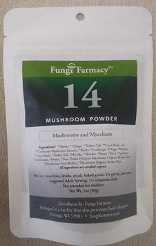 14 Mushroom Powder Blend
